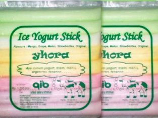 Es yogurt yhora, frozen yoghurt stick, isi 25 pcs
