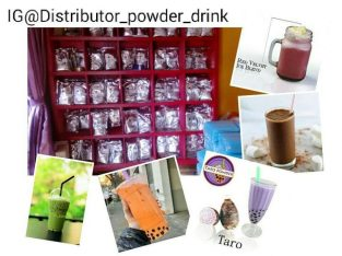 Agen THAITEA powder Drink palembang, ready stok