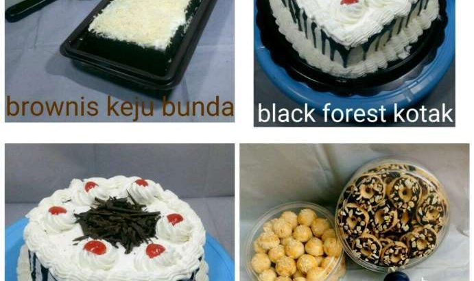 Kue black forest / ulang tahun