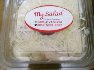 Salad buah mayo yogurt keju susu via online