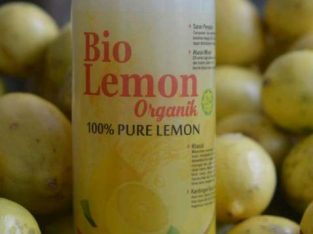 Lemon 100% Murni Perasan Lemon