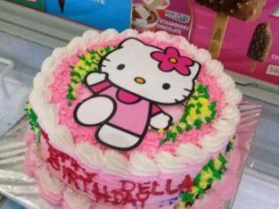 Kue ultah / ulang tahun hello kitty