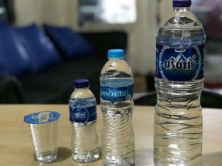 Air sehat dari gunung asli