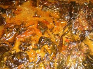 Masakan Khas sunda Buntil jaman dulu