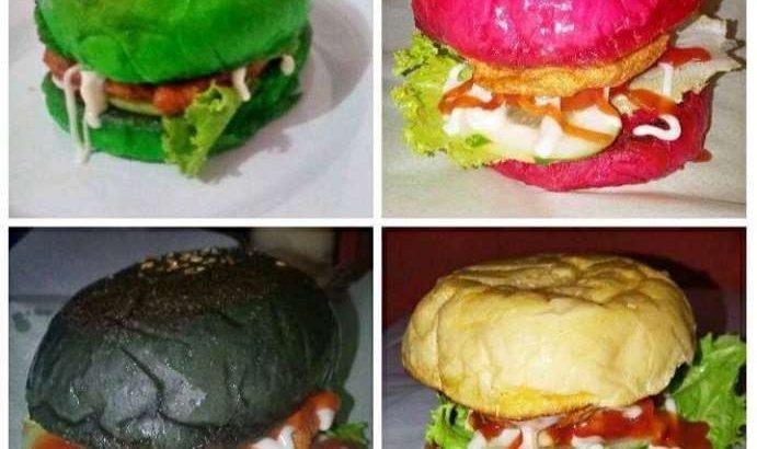Burger ayam dadar bandung perumnas
