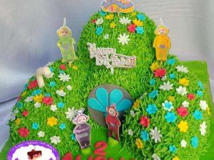 Kue Tart Rumah Teletubbies Surabaya