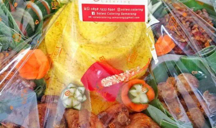 SALWA CATERING•Nasi box/ Nasi kotak – Tumpeng nasi