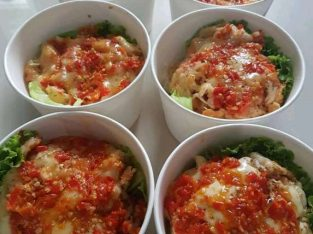 Rice Bowl Nasi Telur praktis