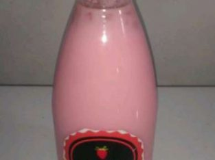 Minuman strawberry jelly maknyuss