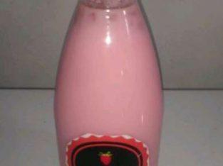 Minuman strawberry jelly maknyuss