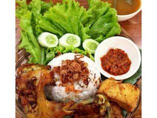 Ayam Goreng Serundeng Lengkuas Dapoer Ibu Ros