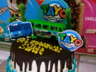 Kue Ultah Ulang Tahun Tayo Marketplace Kuliner Indonesia