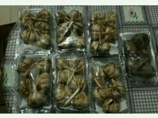 Black garlic bawang putih hitam homemade