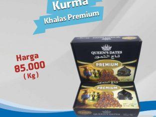 Kurma Khalas Premium 85ribu per kg