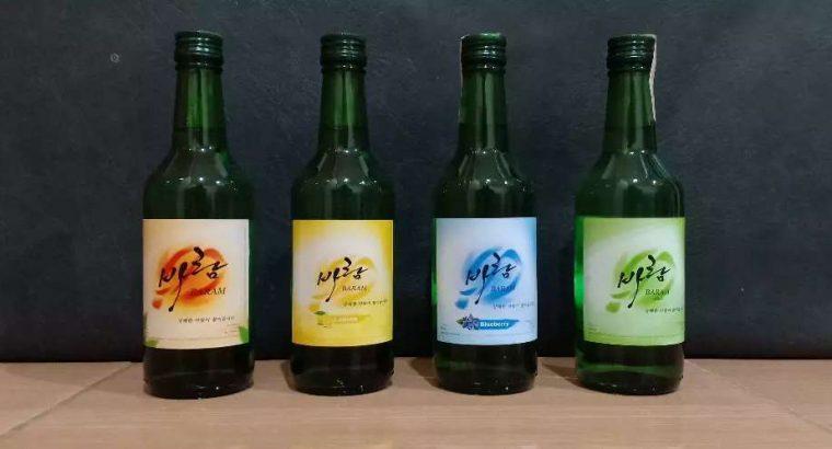 Shoju BARAM khas Korea ( Ori & Lemon )