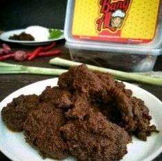 Rendang Hitam asli resep tradisional padang