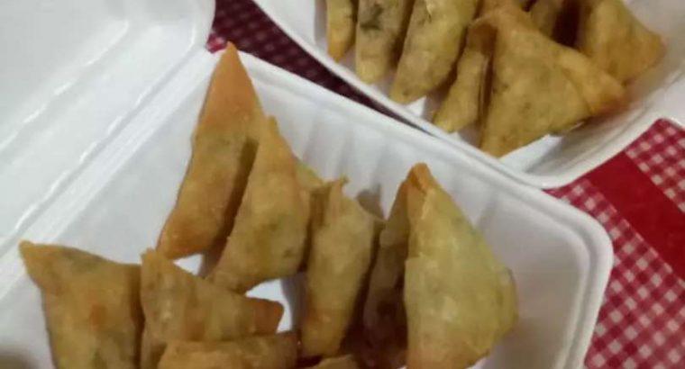 Jual Samosa isi Daging Sapi dan Ayam