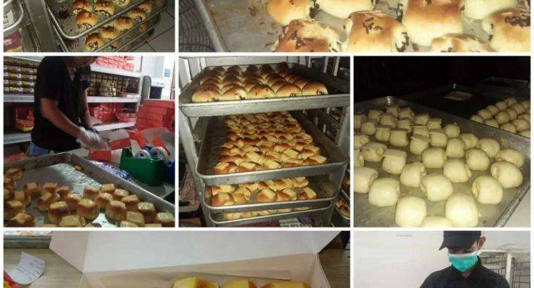 Jual Roti dan kue basah bogor