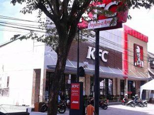 DIJUAL RESTORAN FRANCHISE KFC DI PUSAT AMLAPURA