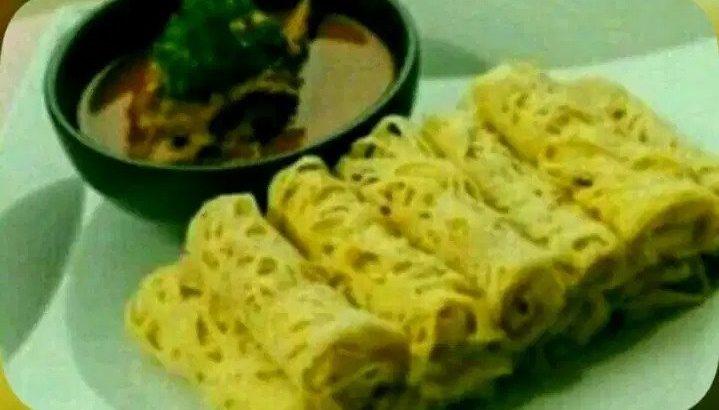 Roti Jala Tanpa Kari