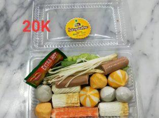 Sukiyaki Halal (Paket A)
