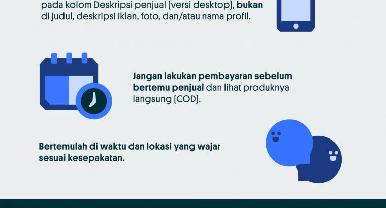 Tips Jual Beli Online Aman Terhindar dari Penipuan