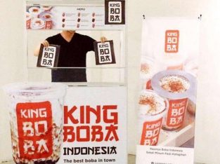 Jual franchise minuman King BOBA slot terbatas