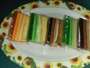 Jual Cake puding warna- warni