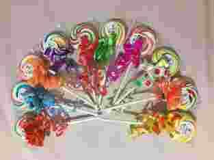 Permen Lollipop Rp. 1.500,- berat 15 gram lebar 4