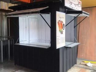 Stand / container utk francise,ukm,waralaba,kedai