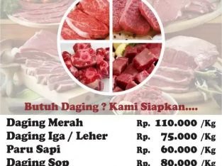 SUPPLIER DAGING LOKAL & IMPORT