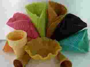 Cone Es Krim / waffle Ice Cream seperti McD