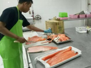 Ikan fresh dan frozen