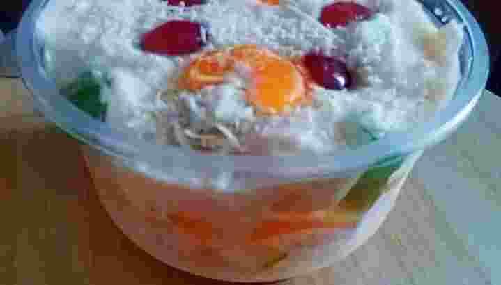 Salad Buah,Puding Coklat