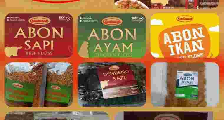Abon Sapi Premium SADRASA
