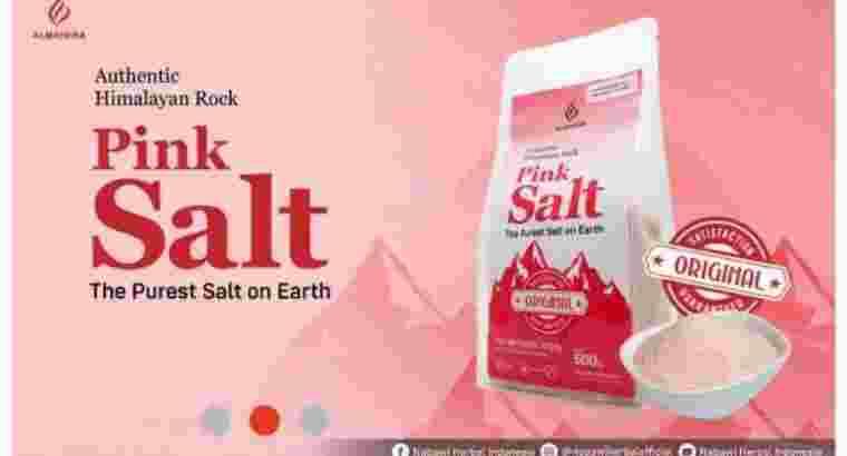 Jual Garam Himalaya / pink Salt