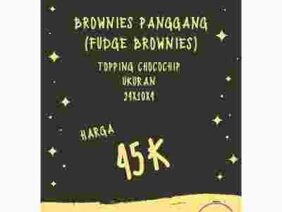 Brownies Panggang (Fudge Brownies)