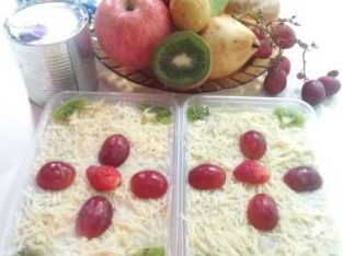 salad buah segar dan fresh