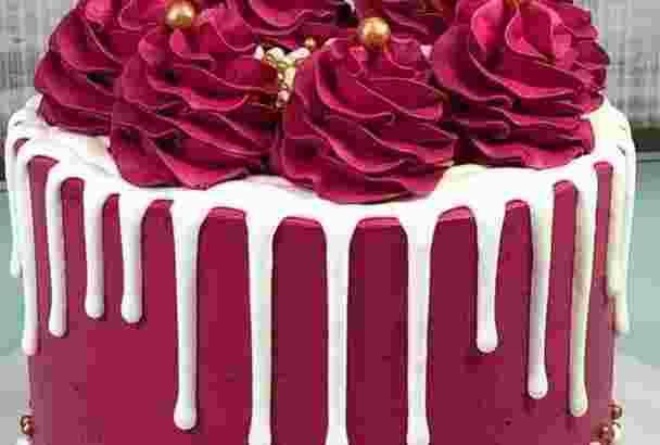Cake ultah.