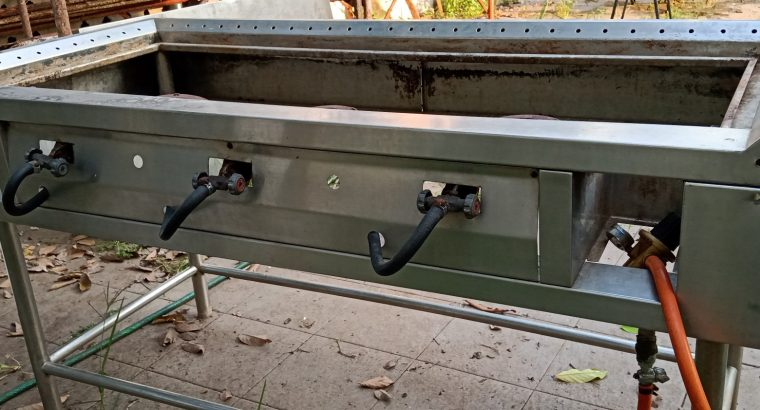 Meja/Panggangan Teppan Besar (P150 x Lb70)