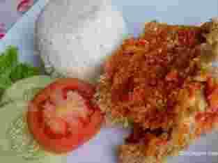 jual nasi ayam geprek