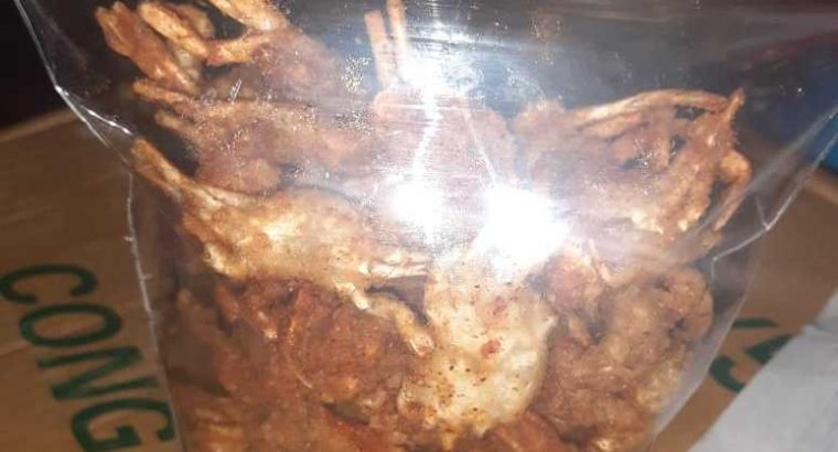 Cemilan Crispy baby crab