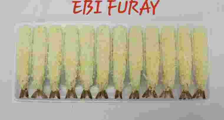 Ebi furay / udang roti