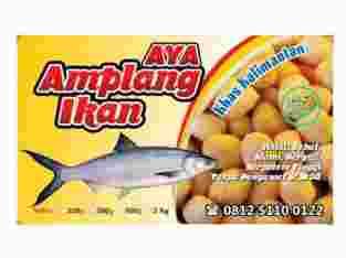 Amplang / Kerupuk ikan bandeng oleh Kalimantan