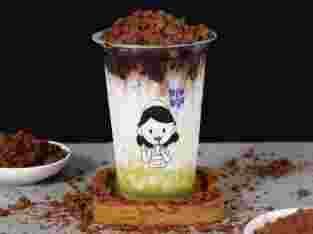 RunRun Choco Avokado Signature Drink