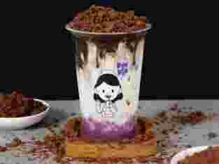 RunRun Choco Taro Signature Drink