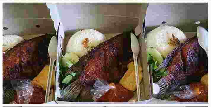 (Catering)Ikan Gurami Bakar