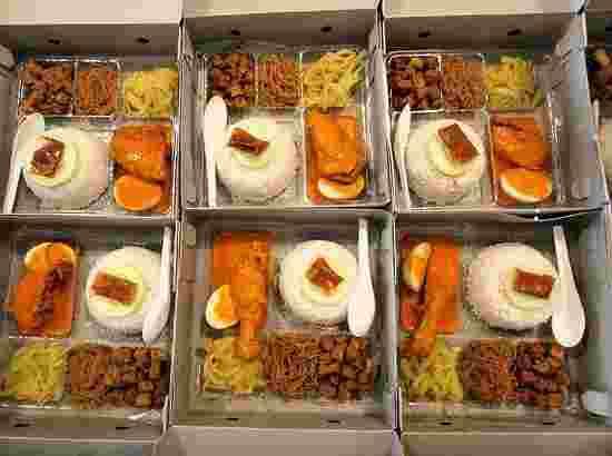paket catering prasmanan dan nasi kotak