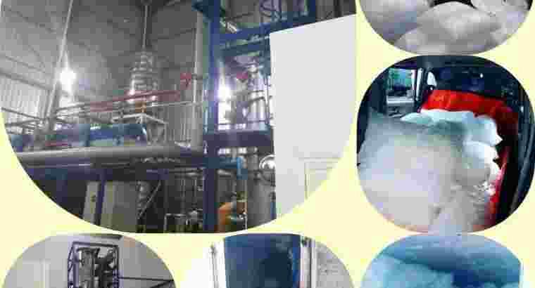 Distributor Es kristal/ Tube dan Serut kasar