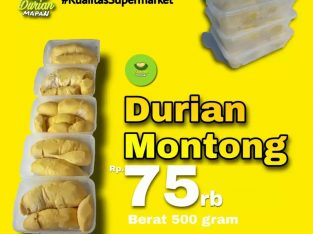 Supplier Jual Durian Montong Monthong Kupas